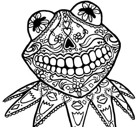 coloring pages day of the dead skulls day of the dead skull coloring pages printable az