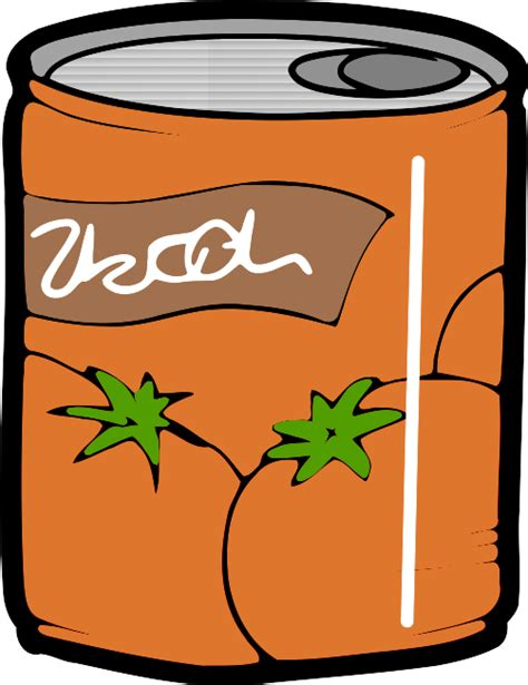 can clipart canned food clipart