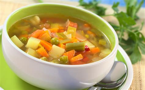 seven vegetable soup recipe dishmaps