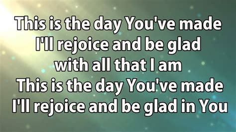 lyrics day is planetshakers this is the day with lyrics