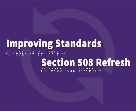 section 508 refresh information and communication technology ict