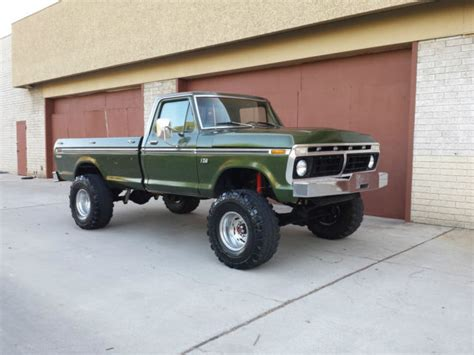 1976 ford f250 highboy for sale 1976 ford f250 4x4 highboy beast rebuilt 460 v8 4 speed