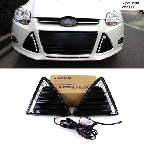 automotive led light kits aliexpress com buy car drl kit for ford focus 3 2012