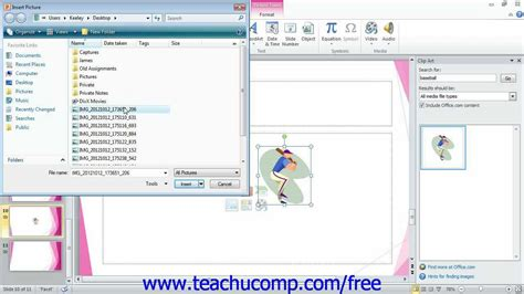 powerpoint tutorial online free powerpoint 2010 tutorial inserting clip art and pictures