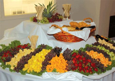 fruit table for wedding reception amorris reception ideas for fruit cheese buffet