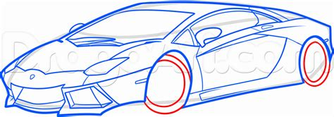 How To Draw A Lamborghini Step By Step How To Draw A Lamborghini Step By Step For Step 3 How