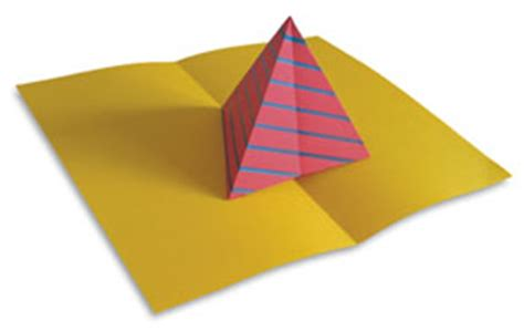 Complex Pyramid Tree Pop Up Card Template by Make A Pop Up With Popular Kinetics Press