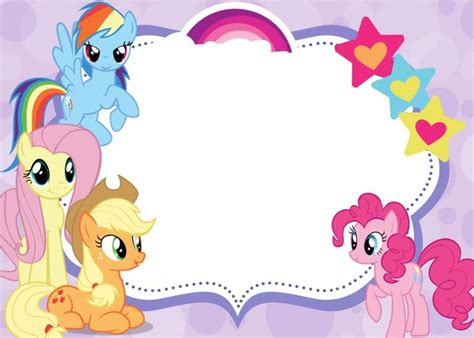 my little pony printable party decorations free printable invitations my little pony party