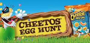 Lots Of Prizes Sweepstakes - cheetos easter egg hunt sweepstakes lots of great prizes free sles 2 fill up