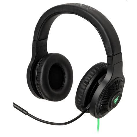 Headset Razer Kraken Usb razer kraken gaming headset usb black gapl 663 from wcuk