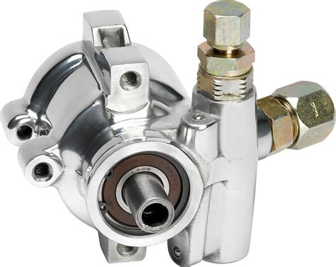 billet specialties polished aluminum power steering pump