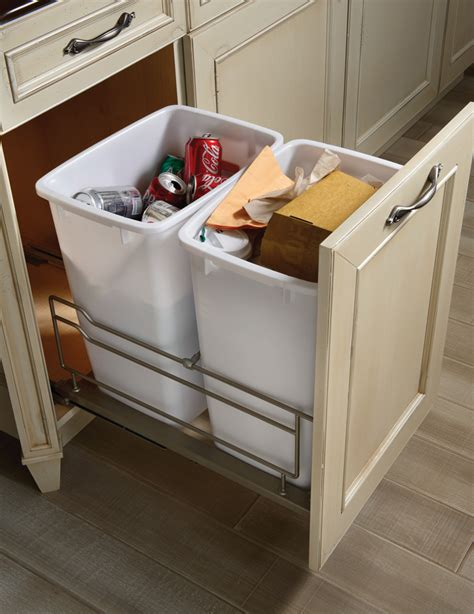 Waste Baskets For Kitchen Cabinets Brookhaven Cabinet Styles Waste Basket Cabinet Wood Mode Custom Cabinetry My