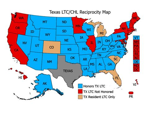 concealed carry usa map concealed carry permit reciprocity maps usa carry autos post