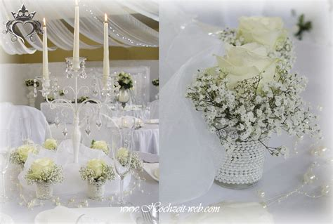 Moderne Hochzeitsdeko by Moderne Tischdekoration Und Hochzeitsdekoration In Wei 223