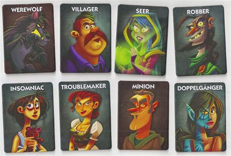 ultimate werewolf printable cards one night ultimate werewolf is a howling good time geekdad