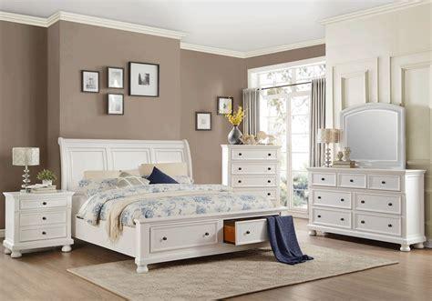 white queen storage bedroom set laurelin white queen storage bedroom set louisville
