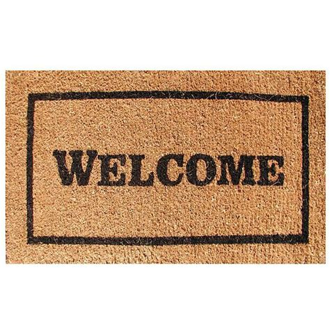 Home Goods Decorative Accessories welcome door mat 30x18 free shipping on orders over