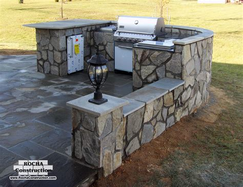 Roll Around Kitchen Island outside kitchens rocha construction silver spring md
