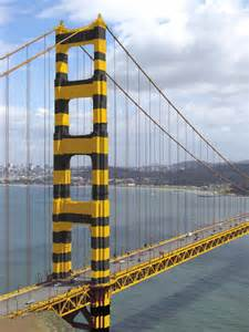 what color is the golden gate bridge besides international orange other color schemes were