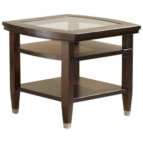 End Table Lights Broyhill Northern Lights End Table In Walnut 3312 02