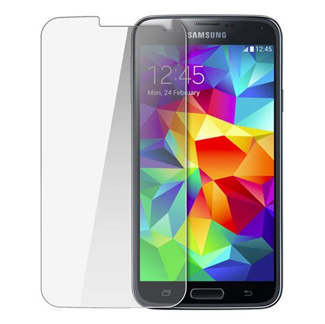 best screen protector for galaxy s5 0 24mm tempered glass screen protector for samsung galaxy