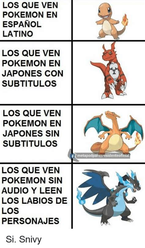 Memes De Pokemon En Espaã Ol - 25 best memes about espanol and pokemon espanol and