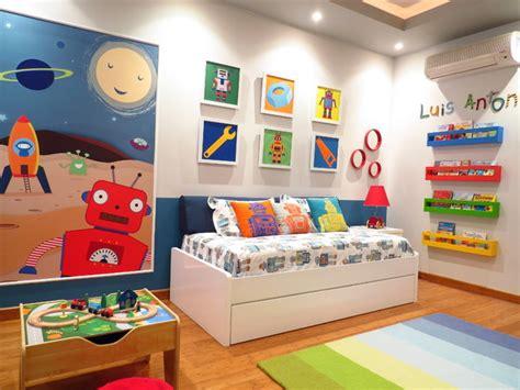 Robot Bedroom Accessories Robot Toddler Room