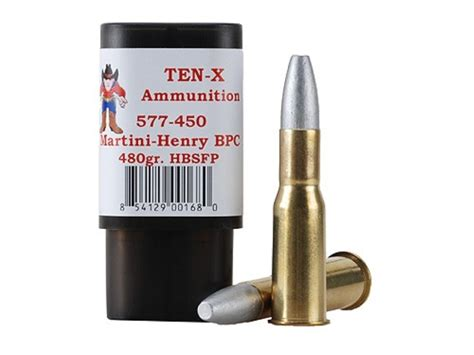martini henry ammo ten x cowboy ammo 577 450 martini henry 480 grain hollow