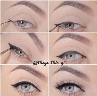 tutorial eyeliner nero tutorial fotografico make up stendere l eyeliner con i