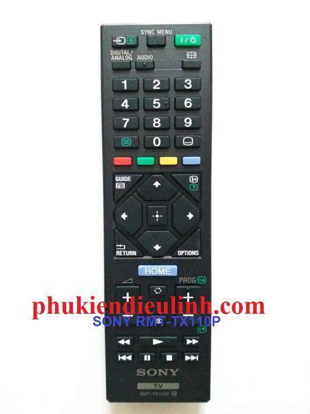 Remote Tv Sony Rmt Tx110p 鋹i峄 u khi峄俷 tivi sony