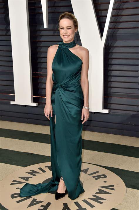 Vanity Fair Oscar Brie Larson Brie Larson At Vanity Fair Oscar 2017 In Los Angeles