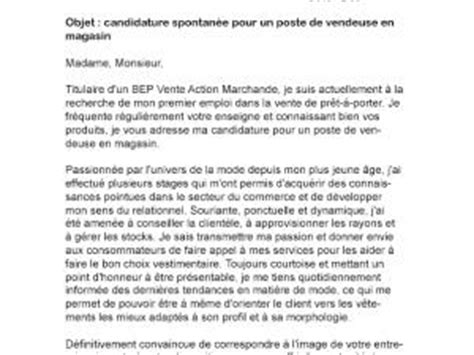Lettre De Motivation Vendeuse En Parfumerie Gratuit modele lettre de motivation vendeuse parfumerie