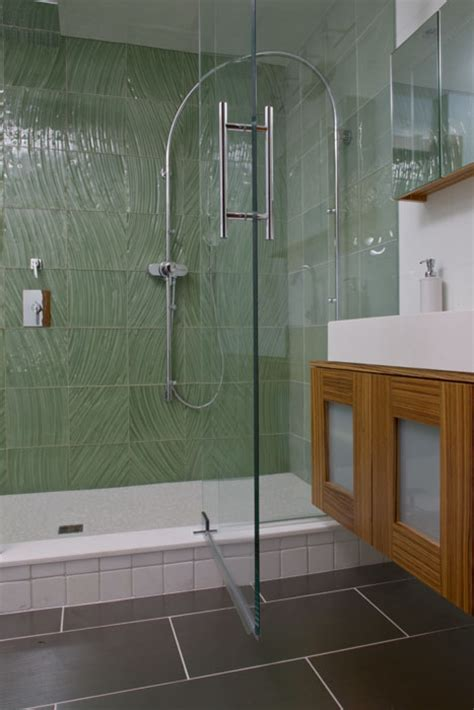 Stand Up Glass Showers by Glass Tile Charles Tiles Inc Stockton Nj