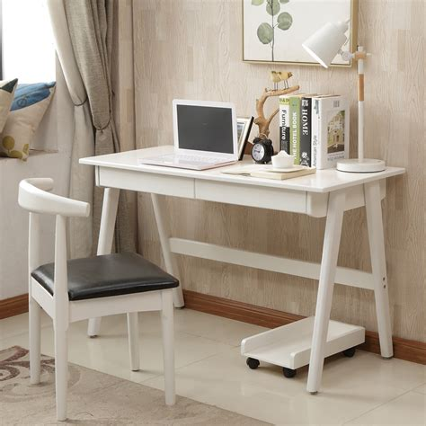solid wood white writing desk usd 231 27 solid wood desk simple home writing