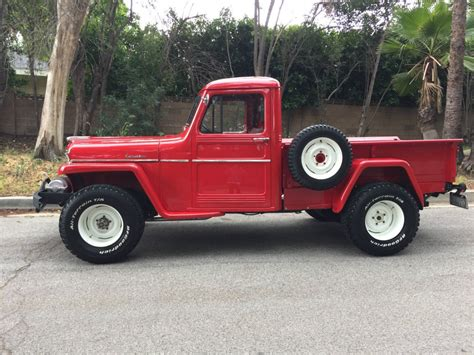 willys jeepster for sale 1957 willys pick up truck off road for sale