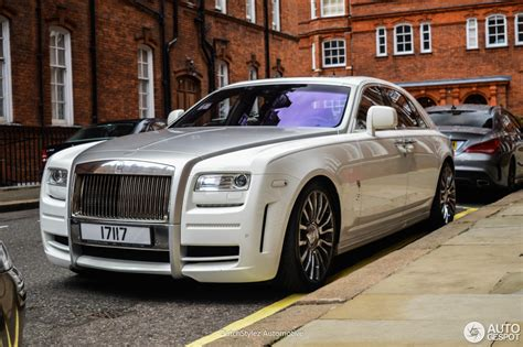 rolls royce white 2016 rolls royce mansory white ghost limited 25 august 2016