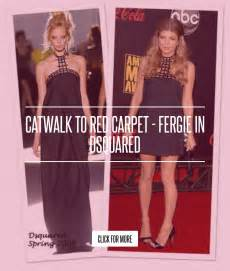 Catwalk To Carpet Fergie In Dsquared by Catwalk To Carpet Fergie In Dsquared