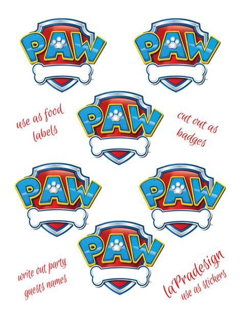 printable paw patrol birthday decorations paw patrol birthday party paw patrol pinterest paw