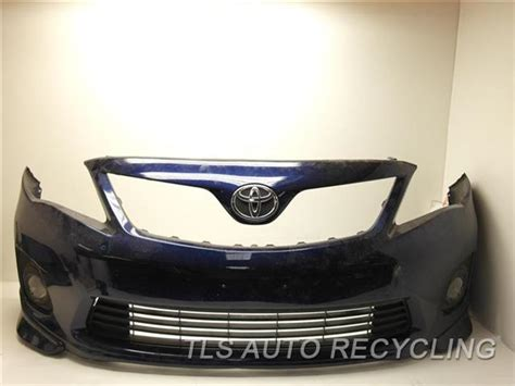 Toyota Corolla Bumper 2013 Toyota Corolla Bumper Cover Front Light Scratches