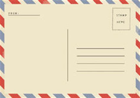 airmail postcard template airmail postcard stock photo image 47358666