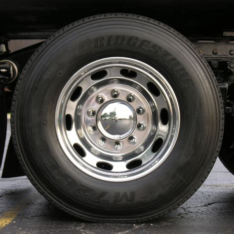 truck wheels 4 chrome semi trailer wheels 1200x1200 jpg texture