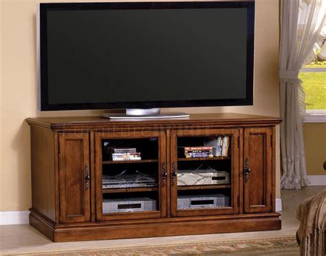 cm miranda tv console  antique style oak