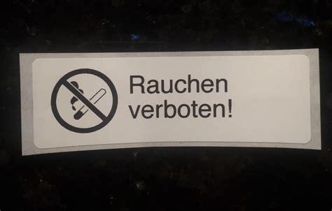 Aufkleber Keine Werbung Bauhaus by Die Besten 25 Rauchen Verboten Ideen Auf