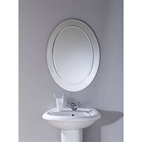 oval bathroom vanity mirrors oval bathroom mirrors three oval grey bathroom mirror on