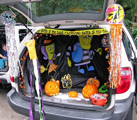 halloween themes for trunk or treat halloween trunk richmond mom