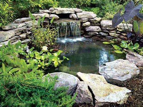 Backyard Pond With Waterfall by Backyard Pond And Waterfall Ideas Pool Design Ideas