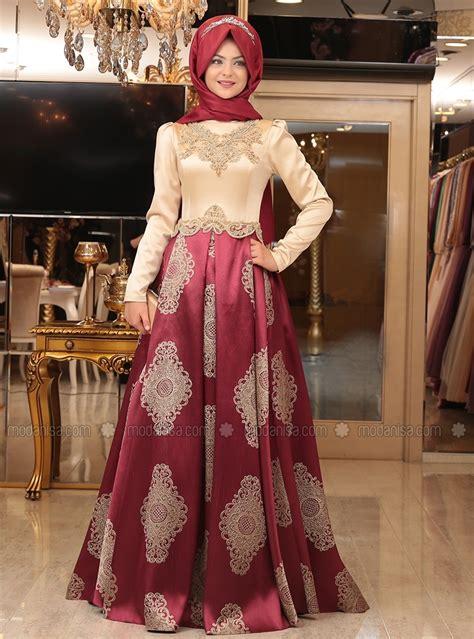Ikn Dress Muslim Fathiya soir 233 e 32 robes de soir 233 e pour femme voil 233 e
