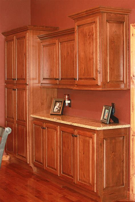 the cabinets plus rustic cherry kitchen cabinets