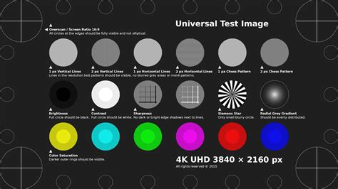 test pattern generator download tobyfree com 4k uhd test pattern h 264 mp4 doovi