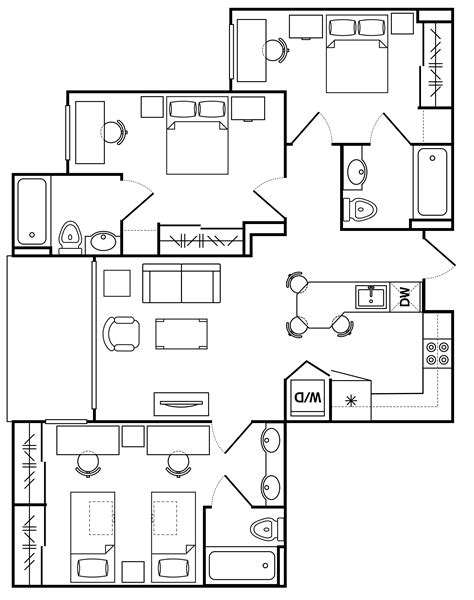 vista del sol floor plans asu vista del sol arizona state university